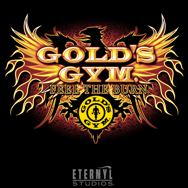 Golds Gym Logo : Joy Studio Design Gallery - Best Design